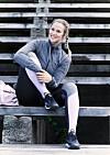 FIKK PROLAPS: Etter at Sigrid (27) fikk problemer med ryggen, måtte hun finne en treningsmåte som gjorde henne sterkere.  Foto: Astrid Waller